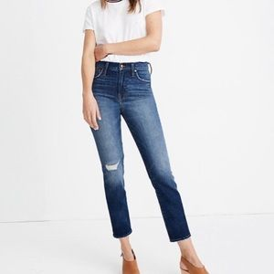 Madewell The Perfect Vintage Crop Jean Size 26